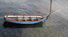 Wooden-lifeboat