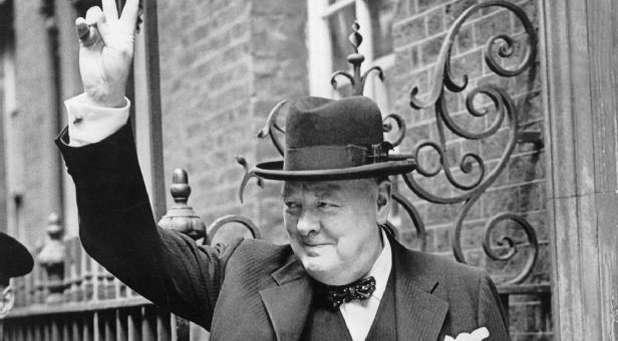 Winston Churchill was at his best during crisis.