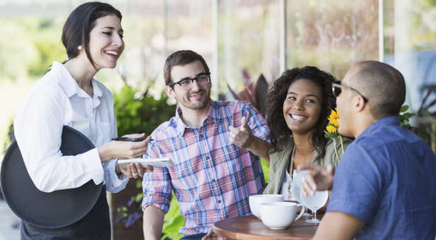 A happy employee almost always translates into customer satisfaction.
