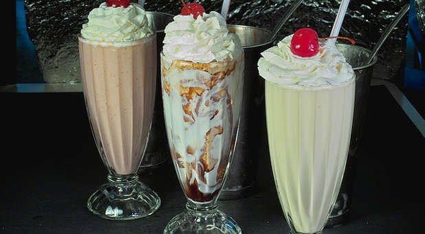 Wouldn't it be great to enjoy a milkshake with both hands?