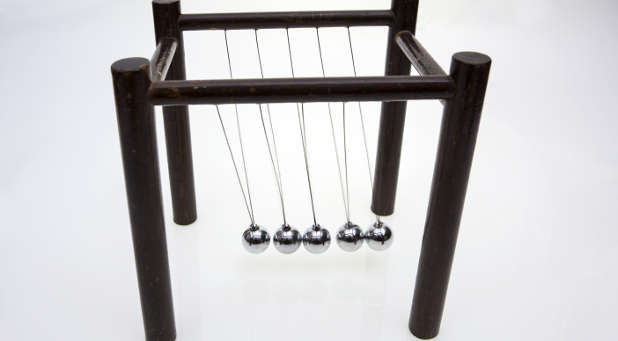 steel ball toy