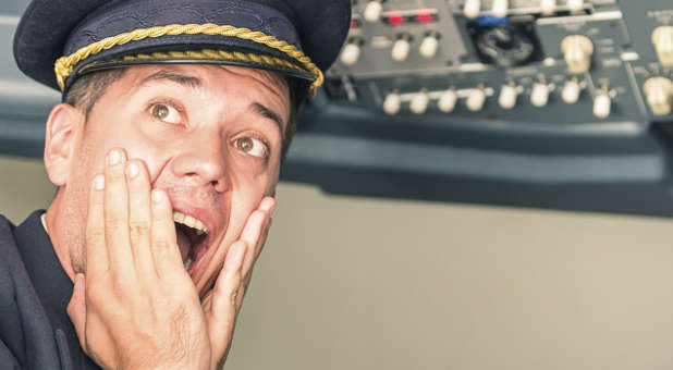 How would you feel if your airline pilot panicked in a crisis?