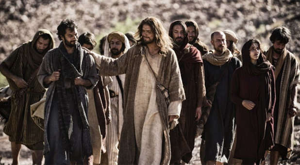 Jesus' disciples became a band of evangelists.
