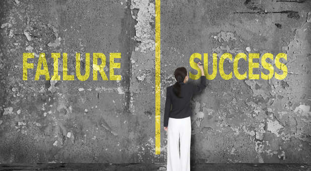 There are several ways to grow beyond your failures.