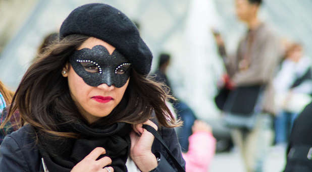 Ladies, you should remove the mask in your ministry.